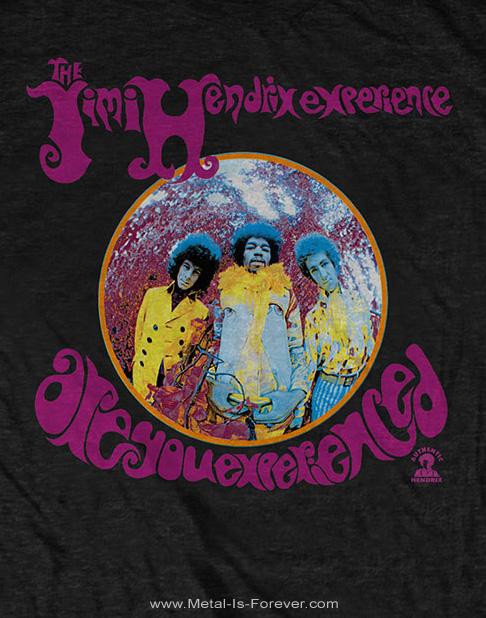 JIMI HENDRIX (ジミ・ヘンドリックス) ARE YOU EXPERIENCED 「アー・ユー・エクスペリエンスト?」 Tシャツ