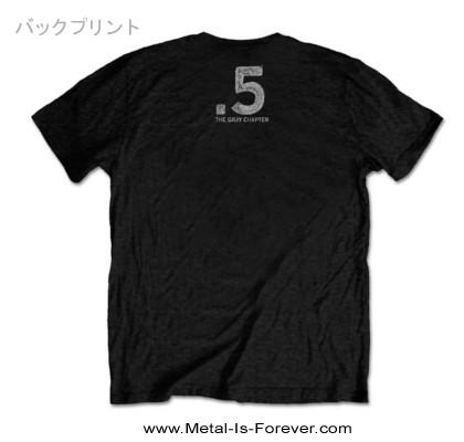 SLIPKNOT (スリップノット) .5: THE GRAY CHAPTER 「.5:ザ・グレイ・チャプター」 スカル Tシャツ