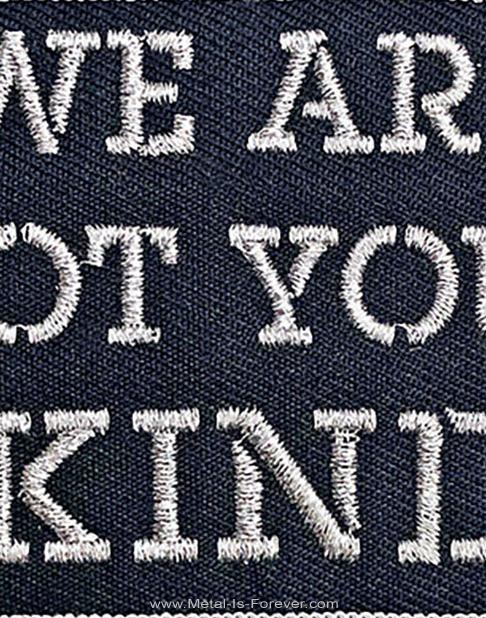 SLIPKNOT (スリップノット) WE ARE NOT YOUR KIND 「ウィー・アー・ノット・ユア・カインド」 アイロン・ワッペン