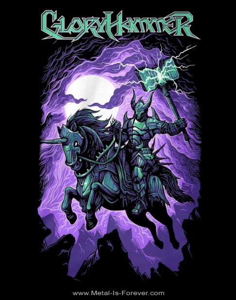 GLORYHAMMER (グローリーハンマー) CHAOS WIZARD 「カオス・ウィザード」 Tシャツ