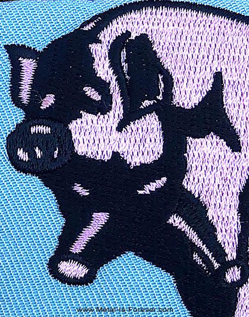 PINK FLOYD (ピンク・フロイド) ANIMALS PIG 「アニマルズ・ピッグ」 ワッペン