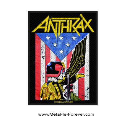 ANTHRAX (アンスラックス) DREDD EAGLE 「ドレッド・イーグル」 ワッペン
