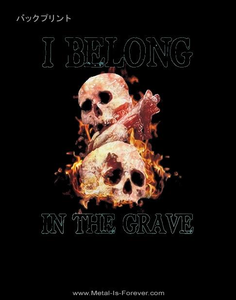 CRYPTOPSY (クリプトプシー) I BELONG IN THE GRAVE 「アイ・ビロング・イン・ザ・グレイヴ」 Tシャツ