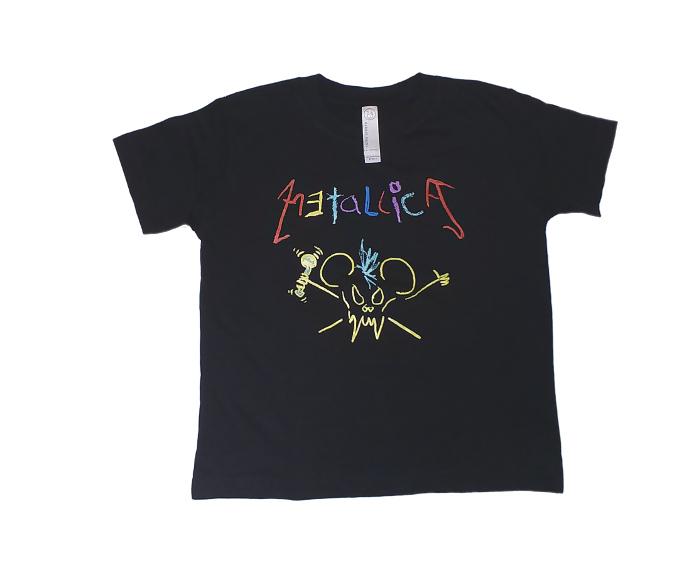 【在庫有り商品】METALLICA -メタリカ- CRAYON 「クレヨン」   子供服 3歳児用