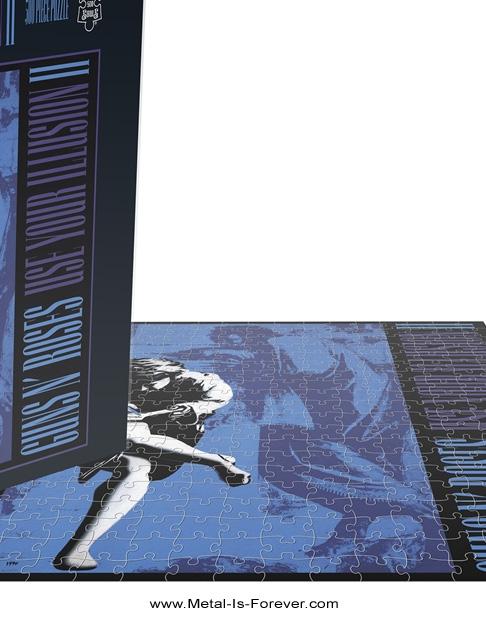 GUNS N' ROSES -ガンズ・アンド・ローゼズ- USE YOUR ILLUSION II 「ユーズ・ユア・イリュージョンII」 500ピース ジグソーパズル