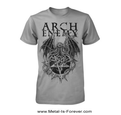 ARCH ENEMY -アーチ・エネミー- CTHULHU 「クトゥルフ」 Tシャツ(グレー)