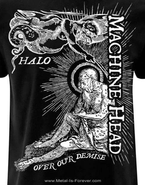 MACHINE HEAD (マシーン・ヘッド) HALO 「ヘイロウ」 Tシャツ