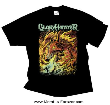 GLORYHAMMER (グローリーハンマー) DRAGON 「ドラゴン」 Tシャツ