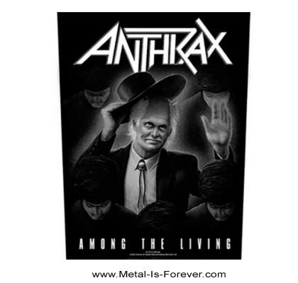 ANTHRAX (アンスラックス) AMONG THE LIVING 「アマング・ザ・リヴィング」 バックパッチ