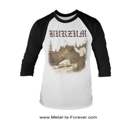 BURZUM -バーズム- FILOSOFEM 「絶望論」  ラグラン七分袖Tシャツ