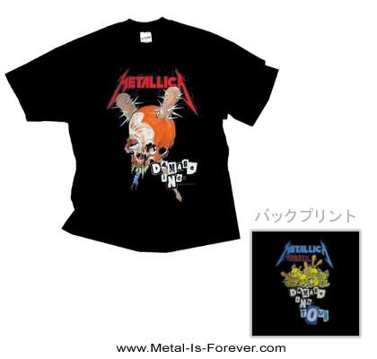 METALLICA -メタリカ- DAMAGE INC. 「ダメージ・インク」 Tシャツ