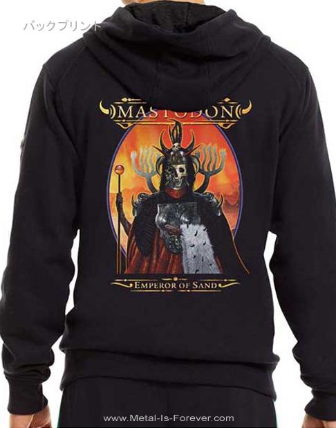 MASTODON -マストドン- EMPEROR OF SAND 「エンペラー・オブ・サンド」 ジップ・パーカー