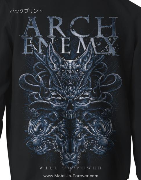 ARCH ENEMY -アーチ・エネミー- BAT 「バット」 ジップ・パーカー