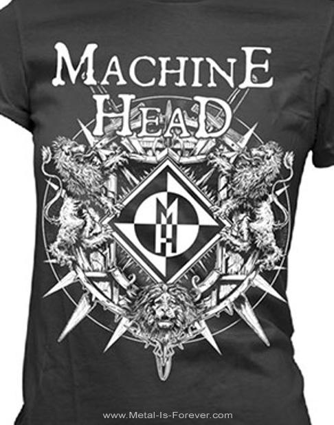MACHINE HEAD (マシーン・ヘッド) BLOODSTONE 「ブラッドストーン」 レディースTシャツ
