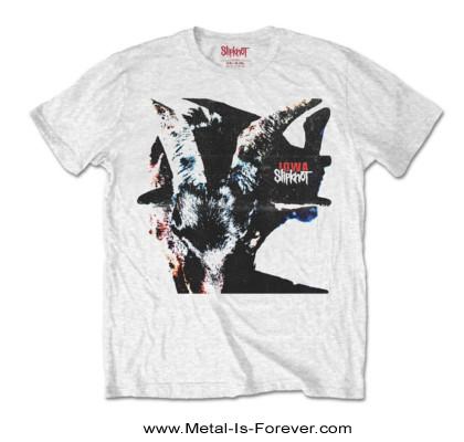 SLIPKNOT (スリップノット) IOWA GOAT SHADOW 「アイオワ・ゴート・シャドー」 Tシャツ(白)
