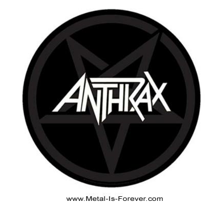 ANTHRAX (アンスラックス) PENTATHRAX「ペンタスラックス」 バックパッチ