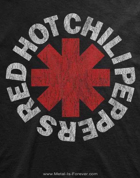 RED HOT CHILI PEPPERS -レッド・ホット・チリ・ペッパーズ- DISTRESSED ASTERISK 「ディストレスト・アスタリスク」 Tシャツ