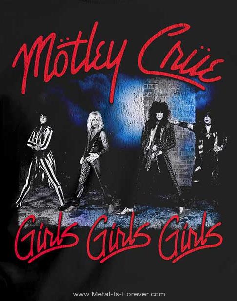 MOTLEY CRUE -モトリー・クルー- SMOKEY STREET 「スモーキー・ストリート」 Tシャツ