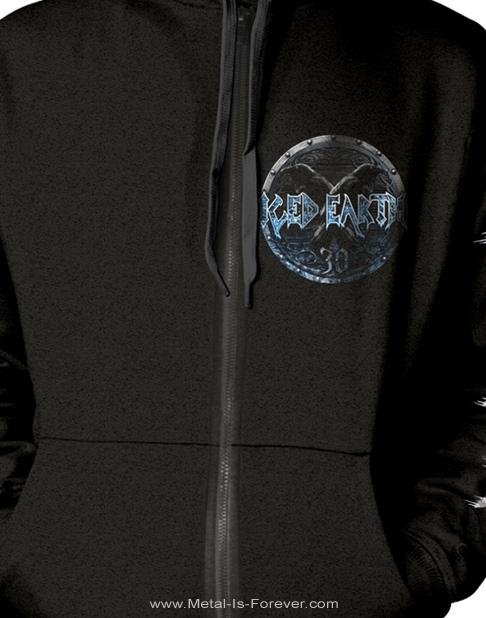 ICED EARTH -アイスド・アース- 30TH ANNIVERSARY 「30周年」 ジップ・パーカー