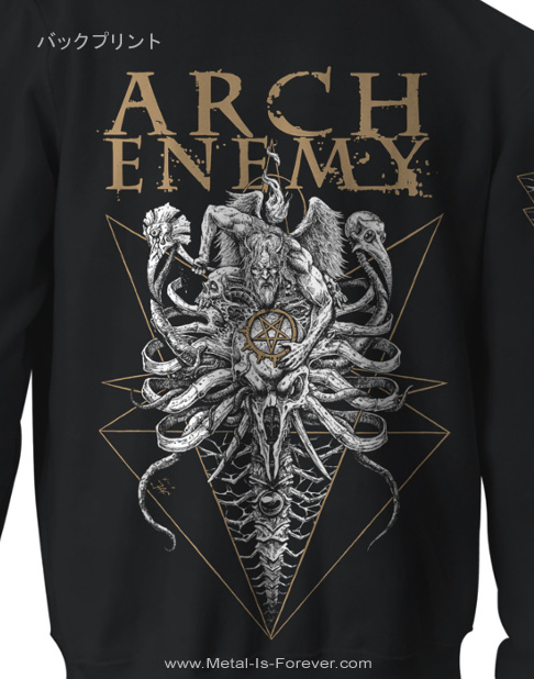 ARCH ENEMY -アーチ・エネミー- A FIGHT I MUST WIN 「ア・ファイト・アイ・マスト・ウィン」 ジップ・パーカー