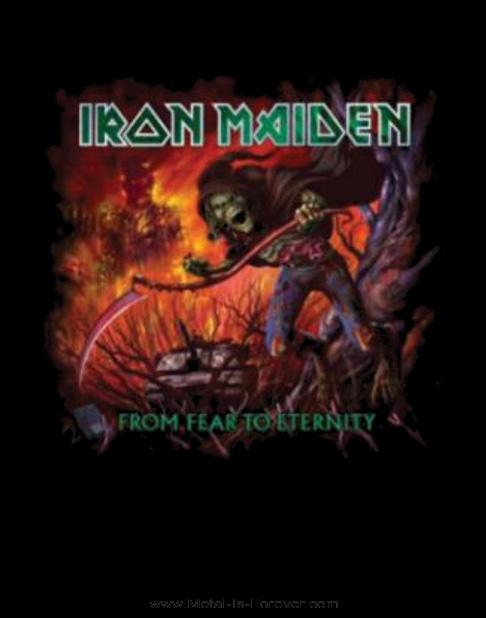 IRON MAIDEN (アイアン・メイデン) FROM FEAR TO ETERNITY 「フロム・フィア・トゥ・エタニティ」 Tシャツ