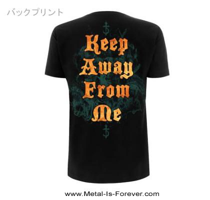 DEVILDRIVER (デヴィルドライヴァー) KEEP AWAY FROM ME 「キープ・アウェイ・フロム・ミー」 Tシャツ