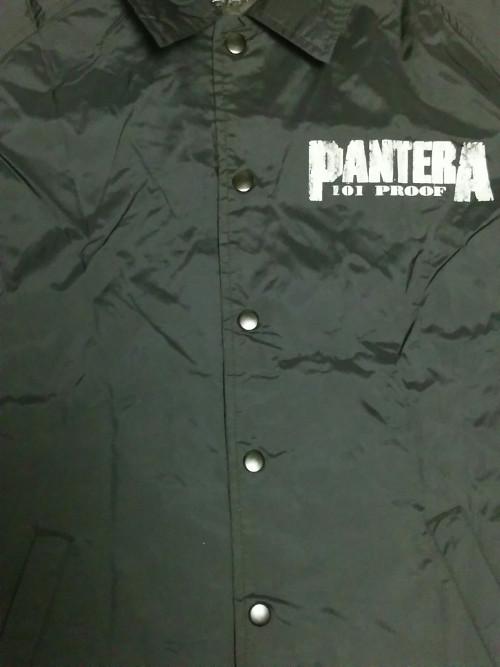 【在庫有り商品】PANTERA -パンテラ- OFFICIAL LIVE 101 PROOF 「ライヴ〜狂獣」 ウインドブレーカー Mサイズ
