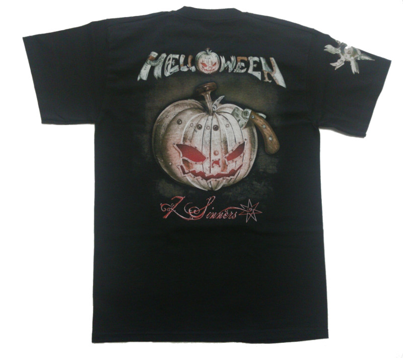 【在庫切れ商品】HELLOWEEN -ハロウィン- ARE YOU METAL ? 「アー・ユー・メタル?」 Tシャツ Mサイズ【コレクターズアイテム】