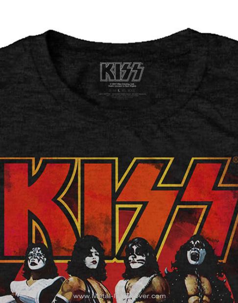 KISS -キッス- LOVE GUN GLOW 「ラヴ・ガン・グロウ」 Tシャツ