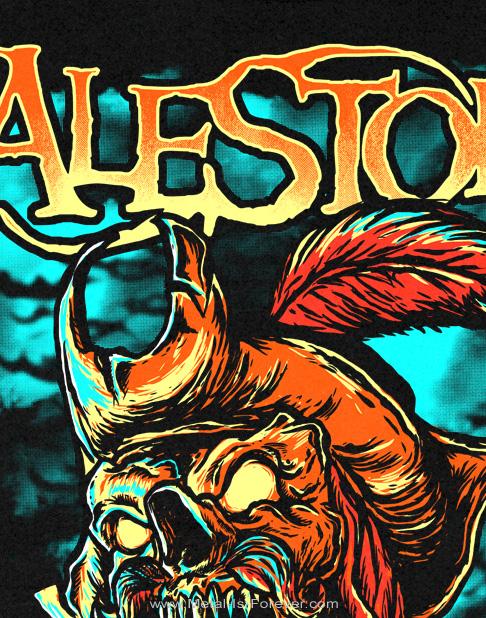 ALESTORM -エイルストーム- GET DRUNK OR DIE 「ゲット・ドランク・オア・ダイ」 レディースTシャツ
