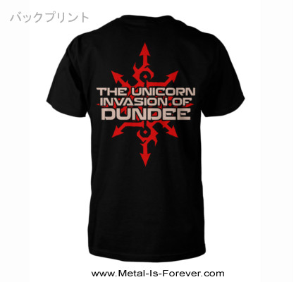 GLORYHAMMER -グローリーハンマー- THE UNICORN INVASION OF DUNDEE 「ザ・ユニコーン・インヴェイジョン・オブ・ダンディー」 レッド・ロゴ Tシャツ