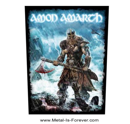 AMON AMARTH (アモン・アマース) JOMSVIKING 「ヨムスヴァイキング」 バックパッチ