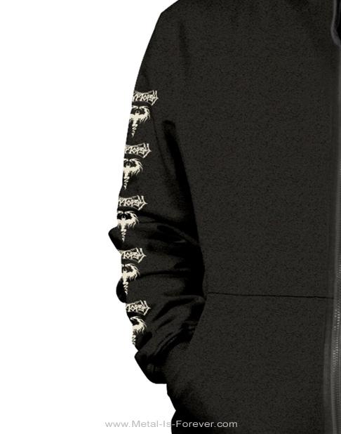 CRYPTOPSY (クリプトプシー) BLASPHEMY MADE FLESH 「ブラスフェミー・メイド・フレッシュ」 ジップ・パーカー