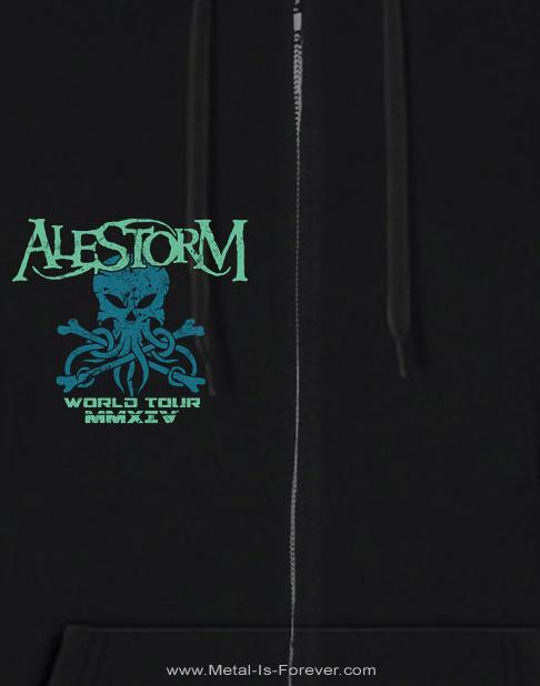 ALESTORM -エイルストーム- OCTOPUS 「オクトパス」 レディース・パーカー