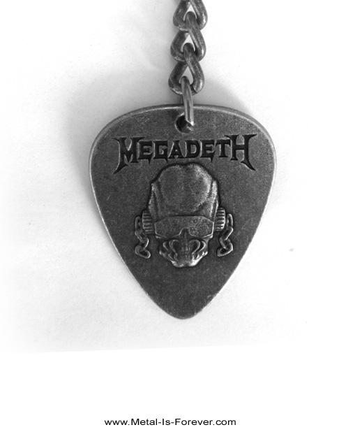 MEGADETH -メガデス- VIC RATTLEHEAD 「ヴィック・ラトルヘッド」 キーチェーン