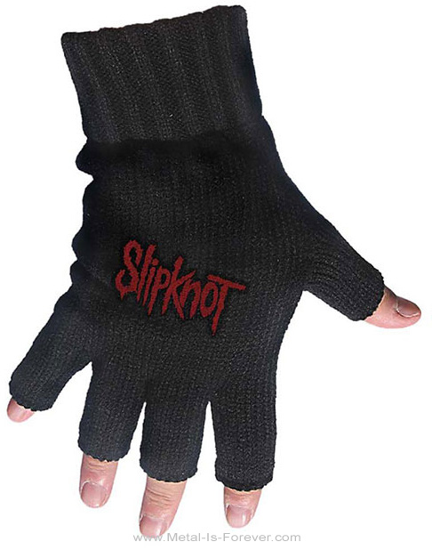 SLIPKNOT (スリップノット) LOGO 「ロゴ」 フィンガーレス・グローブ