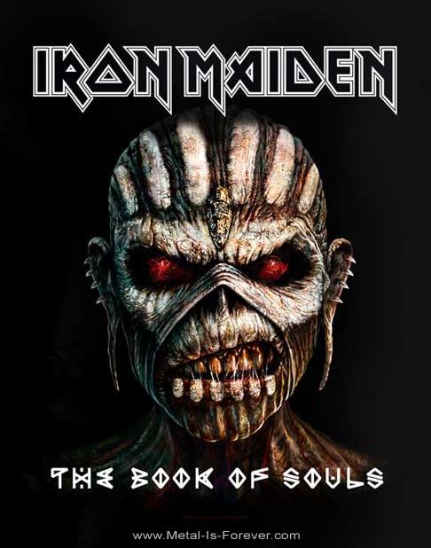 IRON MAIDEN (アイアン・メイデン) THE BOOK OF SOULS 「魂の書~ザ・ブック・オブ・ソウルズ~」 Tシャツ