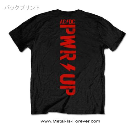 AC/DC (エーシー・ディーシー) POWER UP 「パワーアップ」 アンガス・ホーン Tシャツ
