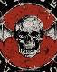 AVENGED SEVENFOLD (アヴェンジド・セヴンフォールド) DISTRESSED DEATH BAT 「ディストレス・デスバット」 ワッペン