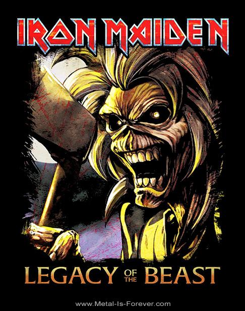 IRON MAIDEN -アイアン・メイデン- LEGACY OF THE BEAST 「ビースト・レガシー」 キラーズ Tシャツ