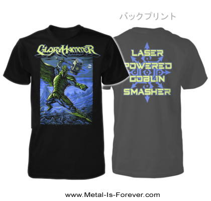 GLORYHAMMER -グローリーハンマー- LASER POWER GOBLIN SMASHER 「レーザー・パワー・ゴブリン・スマッシャー」 Tシャツ