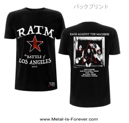 RAGE AGAINST THE MACHINE (レイジ・アゲインスト・ザ・マシーン) BATTLE STAR 「バトル・スター」 Tシャツ
