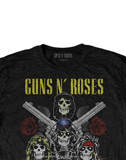 GUNS N' ROSES (ガンズ・アンド・ローゼズ) PISTOLS & ROSES 「ピストルズ・アンド・ローゼズ」 Tシャツ