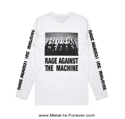 RAGE AGAINST THE MACHINE -レイジ・アゲインスト・ザ・マシーン- NUNS AND GUNS 「ナンズ・アンド・ガンズ」 長袖Tシャツ(白)