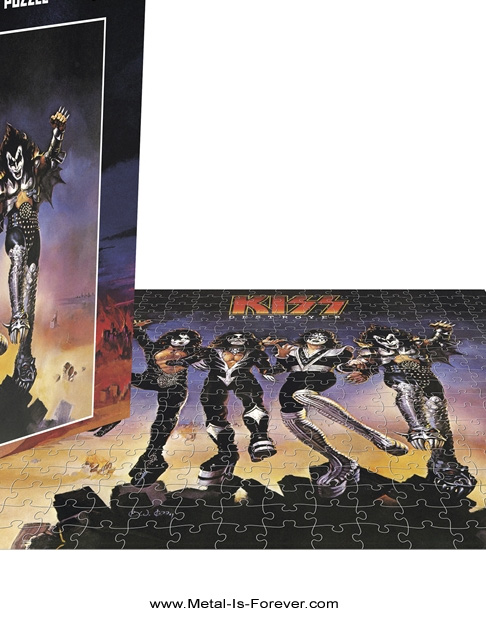 KISS (キッス) DESTROYER 「地獄の軍団」 ジグソーパズル