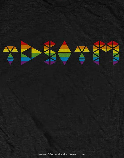 PINK FLOYD (ピンク・フロイド) THE DARK SIDE OF THE MOON 「狂気」 プリズム・イニシャル Tシャツ