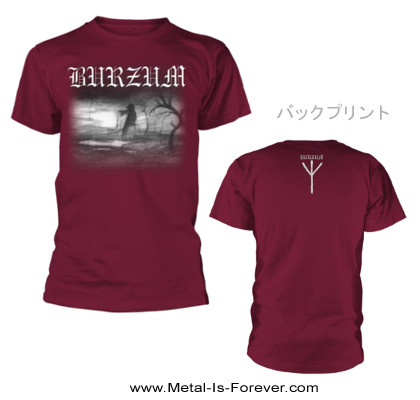 BURZUM -バーズム- ASKE 2013 「アスク 2013」 Tシャツ(マルーン)