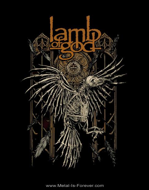 LAMB OF GOD -ラム・オブ・ゴッド- CROW 「クロウ」 Tシャツ