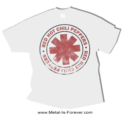 RED HOT CHILI PEPPERS -レッド・ホット・チリ・ペッパーズ- VINTAGE CLASSIC 「ヴィンテージ・クラシック」 Tシャツ(白)