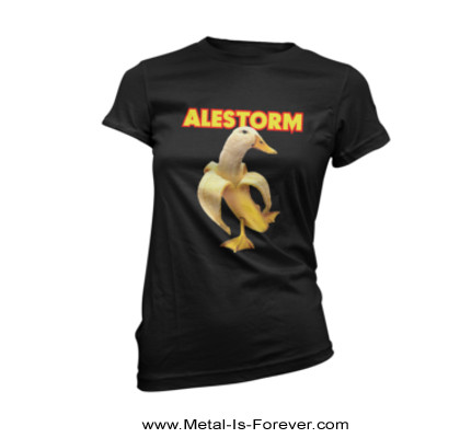 ALESTORM -エイルストーム- BANANA DUCK 「バナナ・ダック」 レディースTシャツ
